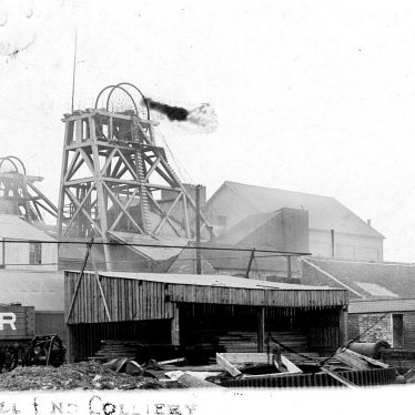 Dordon.  Hall End Colliery