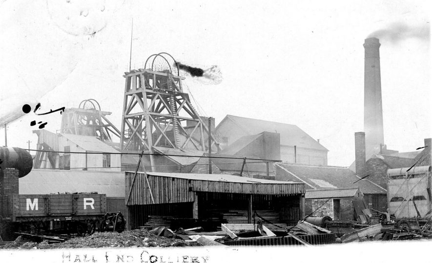 Hall End Colliery, Dordon.  1906 |  IMAGE LOCATION: (Warwickshire County Record Office)