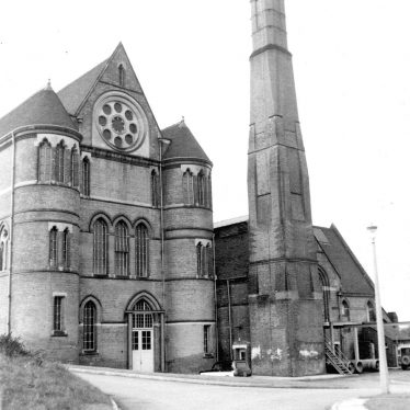 Shustoke.  Whitacre water works