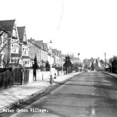 Water Orton.  Village street