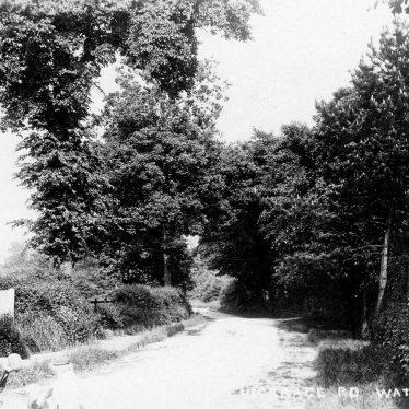 Water Orton.  Vicarage Road