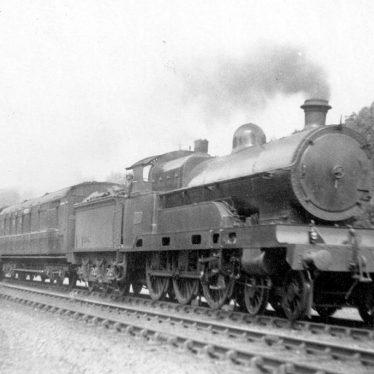 "Shilton.  L.N.W.R. 4-6-0 ""Claughton Class"" engine"