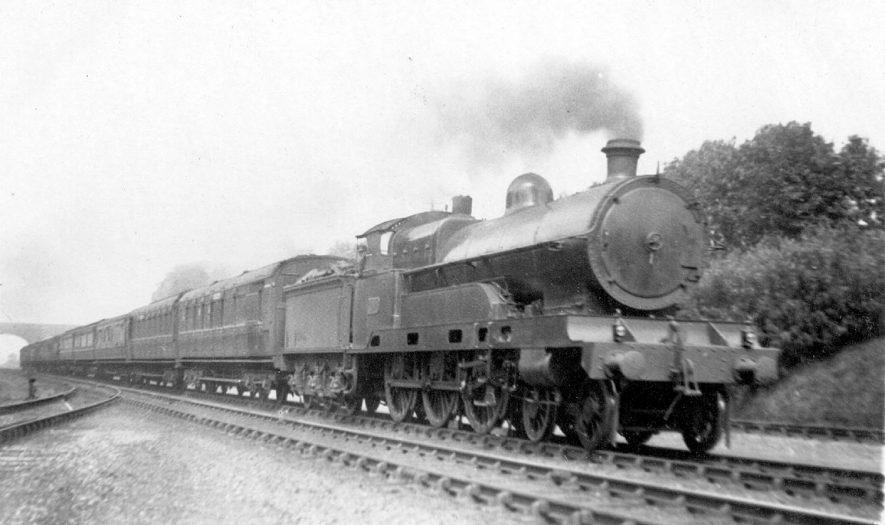 L.N.W railway engine