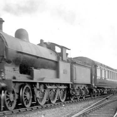 Shilton.  L.N.W.R. 4-6-0 Prince of Wales engine