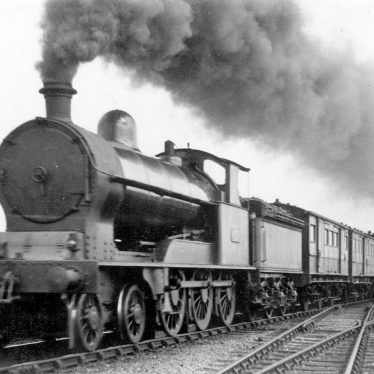 "Shilton.  L.N.W.R. 4-6-0 ""Claughton Class"" engine"