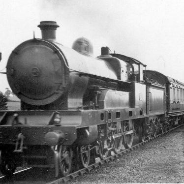 "Shilton.  L.N.W.R 4-6-0 ""Claughton Class"" engine"