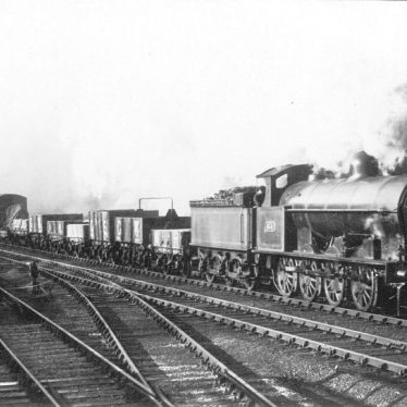 Shilton.  L.N.W.R. 0-8-0 goods train