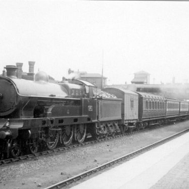 "Shilton.  L.N.W.R. 4-6-0 ""Prince of Wales"" excursion train"