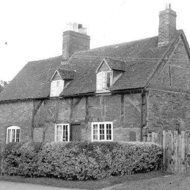 Shustoke.  Ensor's Cottage
