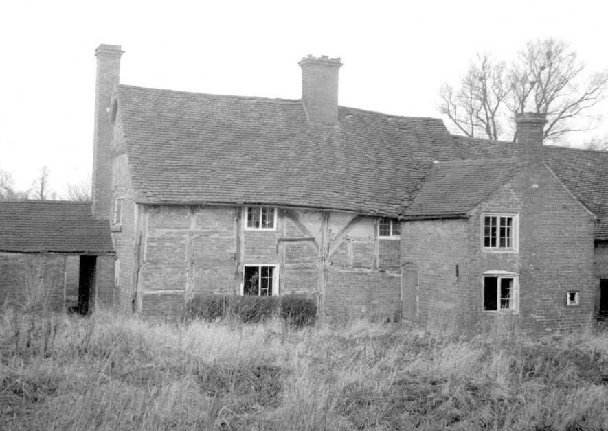 Daw Mill Farm, off Shawbury Lane, Shustoke which was demolished in 1962. |  IMAGE LOCATION: (Warwickshire County Record Office)