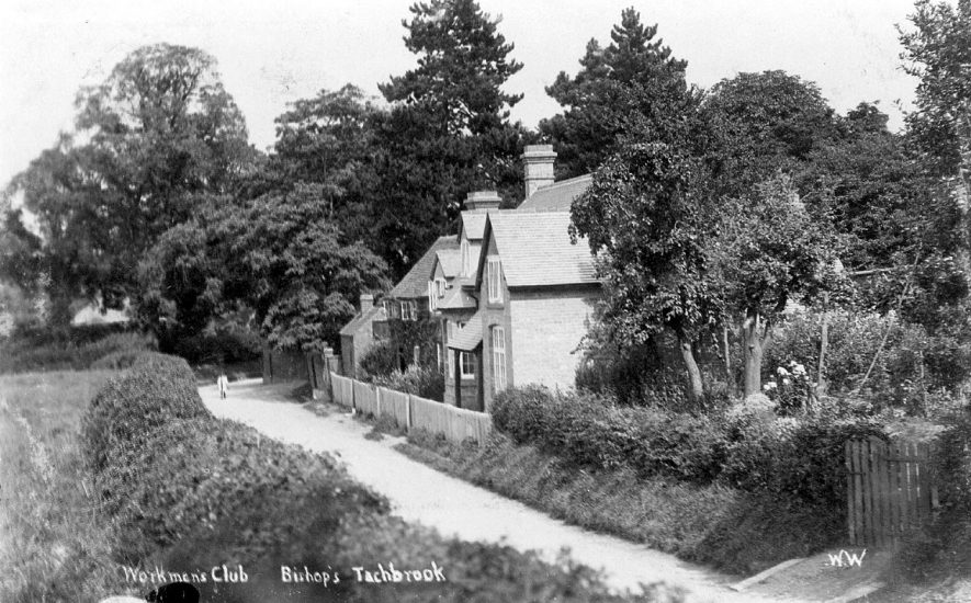 Workingmen's Club in Bishops Tachbrook.  1920s |  IMAGE LOCATION: (Warwickshire County Record Office)