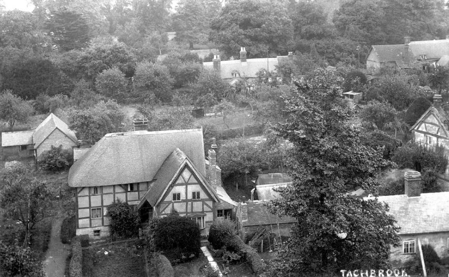 View across Bishops Tachbrook.  1910s |  IMAGE LOCATION: (Warwickshire County Record Office)