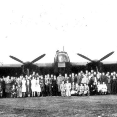Bishops Tachbrook.  Aircraft Assembly Field
