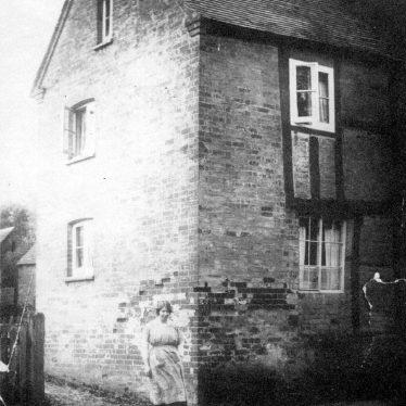 Bishops Tachbrook.  Fidler Boneham's House