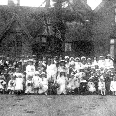 Bishops Tachbrook.  Maypole celebrations