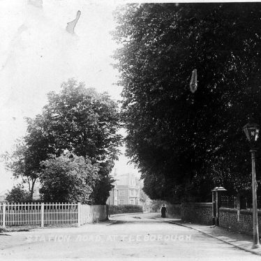Attleborough.  Station Road