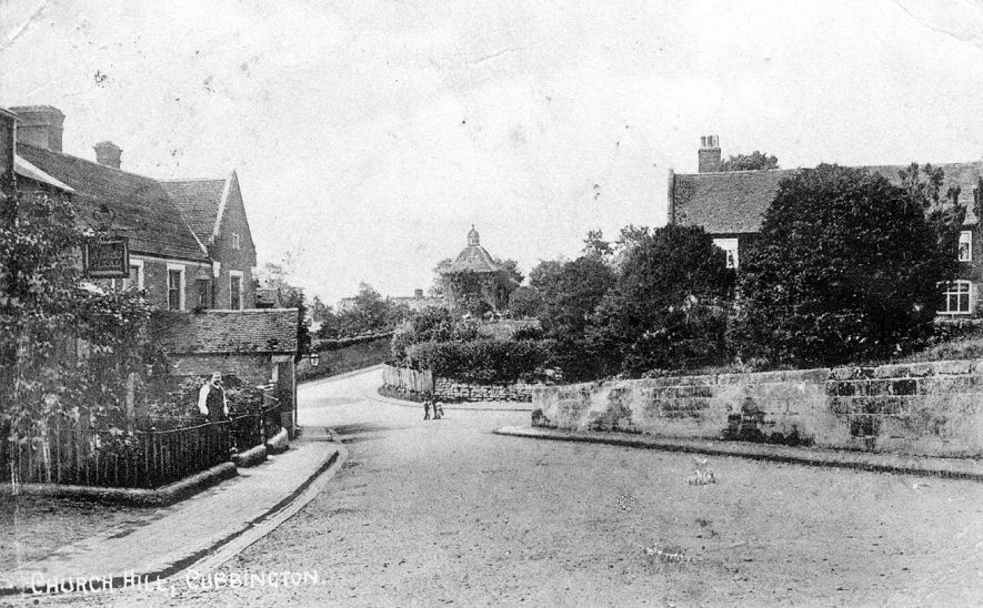 Church Hill, Cubbington.  1920s |  IMAGE LOCATION: (Warwickshire County Record Office)