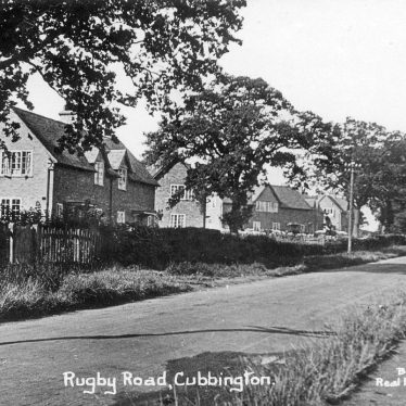 Cubbington.  Rugby Road