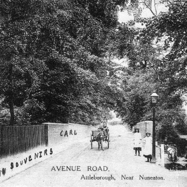 Attleborough.  Avenue Road
