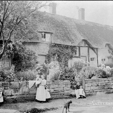 Cubbington.  Lutterworth End (now Church Lane)