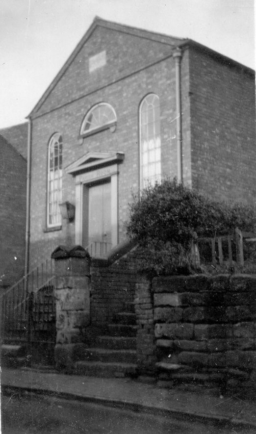 Ledbrook Hall, Cubbington.  This building was originally used as a Wesleyan chapel, day school and Sunday school from 1844 - 1888. For more detailed information refer to - Cubbington by G.F.Peppitt.      IMAGE LOCATION: (Warwickshire County Record Office)