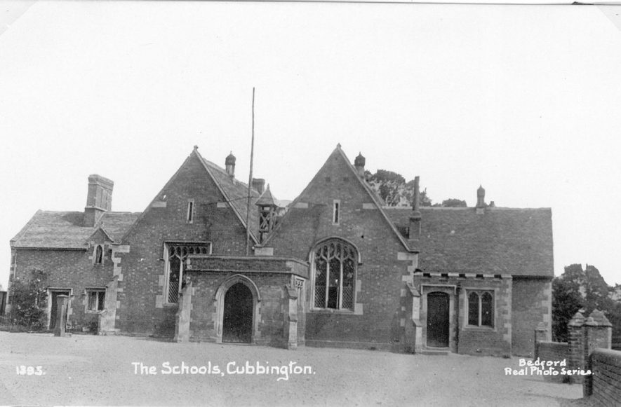 The Schools, Cubbington.  1950s For more detailed information refer to - Cubbington by G.F.Peppitt. |  IMAGE LOCATION: (Warwickshire County Record Office)