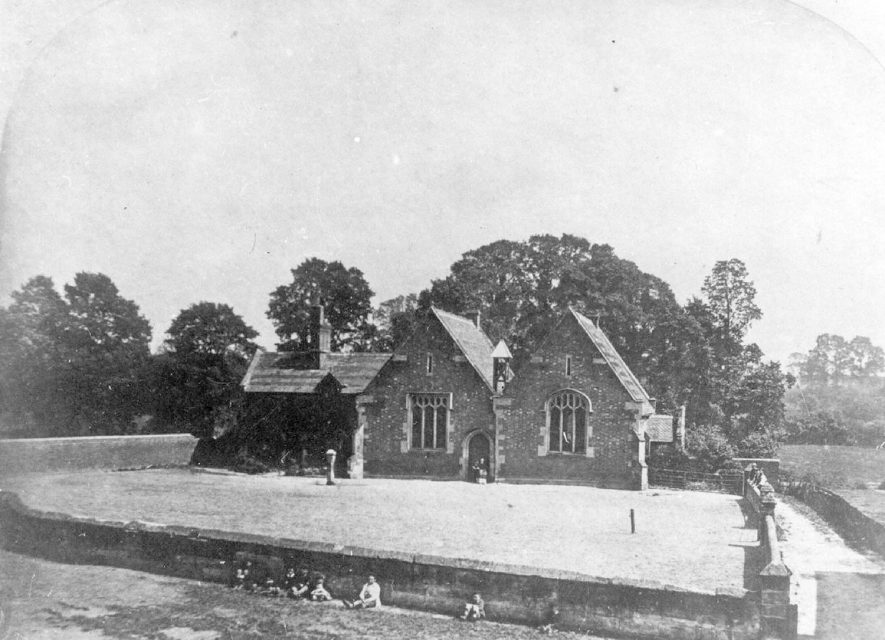 The School in Cubbington in 1846.