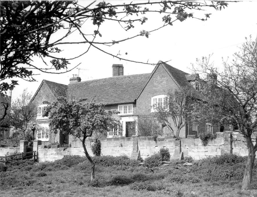 Church Farm house, Cubbington.  1950s