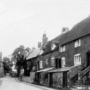 Cubbington.  Jacobs Lane (now Ledbrook Road)