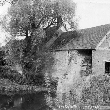 Weston under Wetherley.  Weston Mill