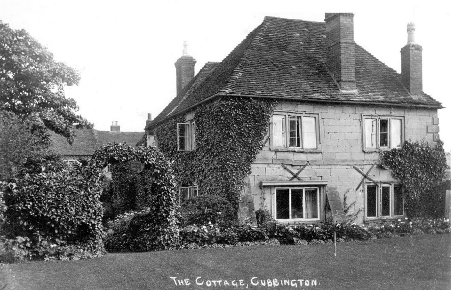 The Cottage, Cubbington.  1950s |  IMAGE LOCATION: (Warwickshire County Record Office)