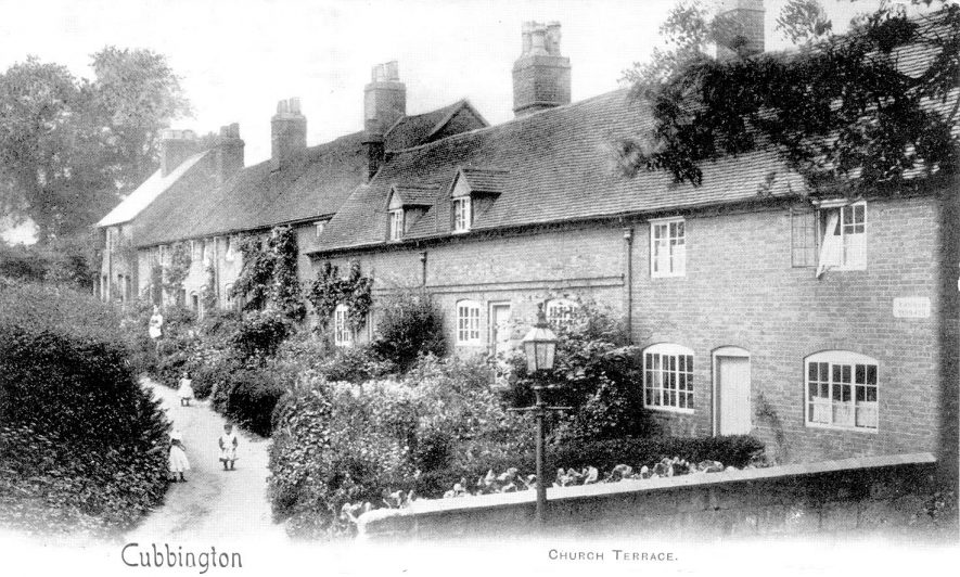 Church Terrace, Cubbington.  1900s |  IMAGE LOCATION: (Warwickshire Museums. Photographic Collections.)