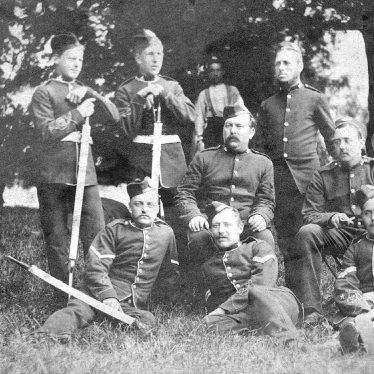 Leamington Spa.  Rifle volunteers