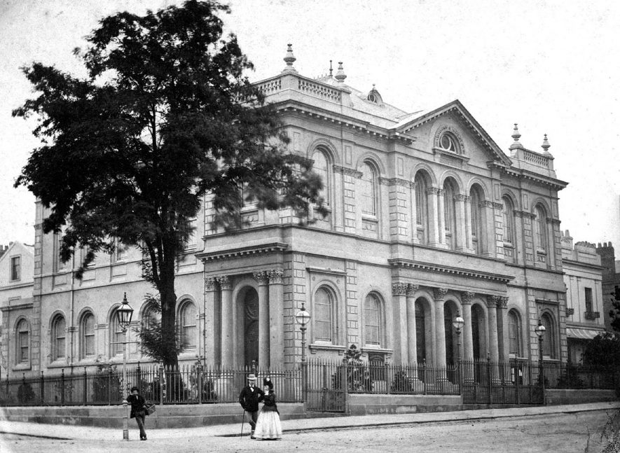 Leamington Spa Methodist church in Dale Street.  1890s |  IMAGE LOCATION: (Warwickshire Museums. Photographic Collections.)
