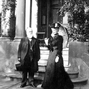 Leamington Spa.  Thomas and Mrs Cooke, Newbold House