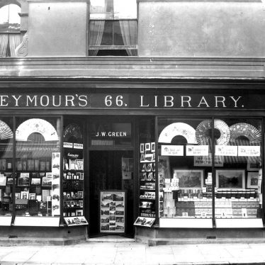 Leamington Spa.  Regent Street, Seymour's Library, no 66
