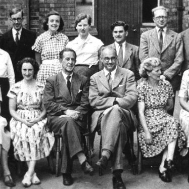 Leamington Spa.  Shrubland Street School staff