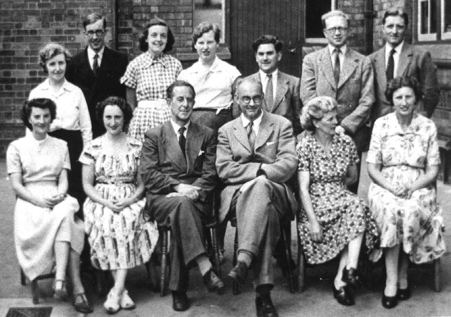 Shrubland School staff group photograph, Leamington Spa.  1950s |  IMAGE LOCATION: (Warwickshire Museums. Photographic Collections.)