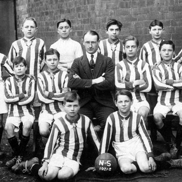 Leamington Spa.  National School football team