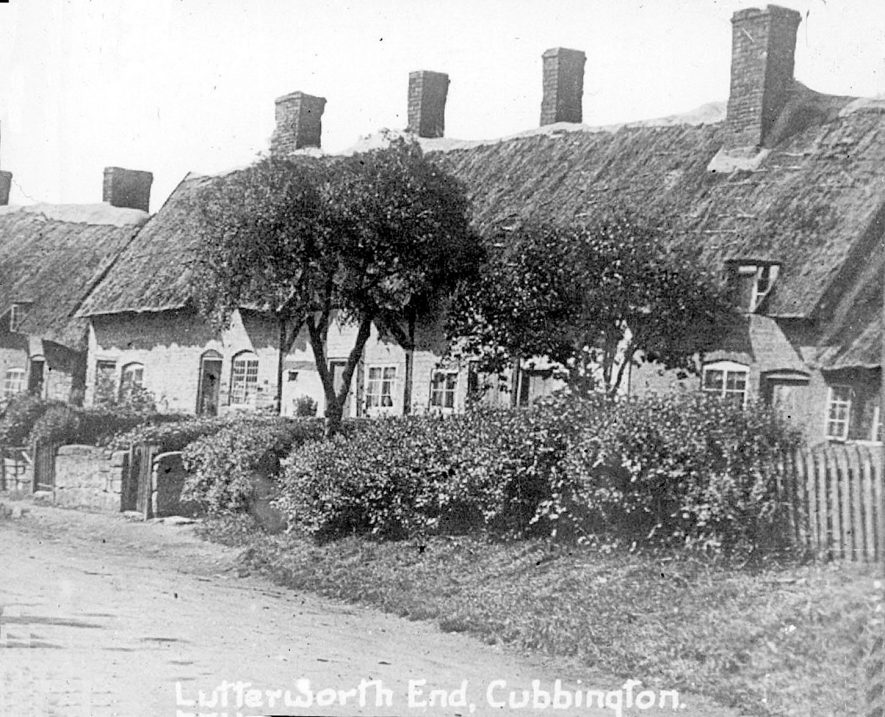 Lutterworth End, Cubbington.  1920s |  IMAGE LOCATION: (Warwickshire County Record Office)