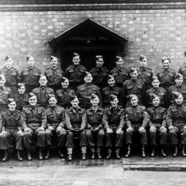 Cubbington.  Group of members of Home Guard