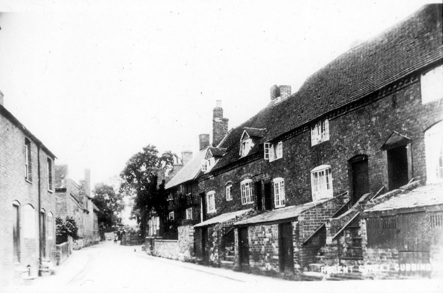 Ledbrook Road formerly Regent Street, Cubbington.  1920s |  IMAGE LOCATION: (Warwickshire County Record Office)