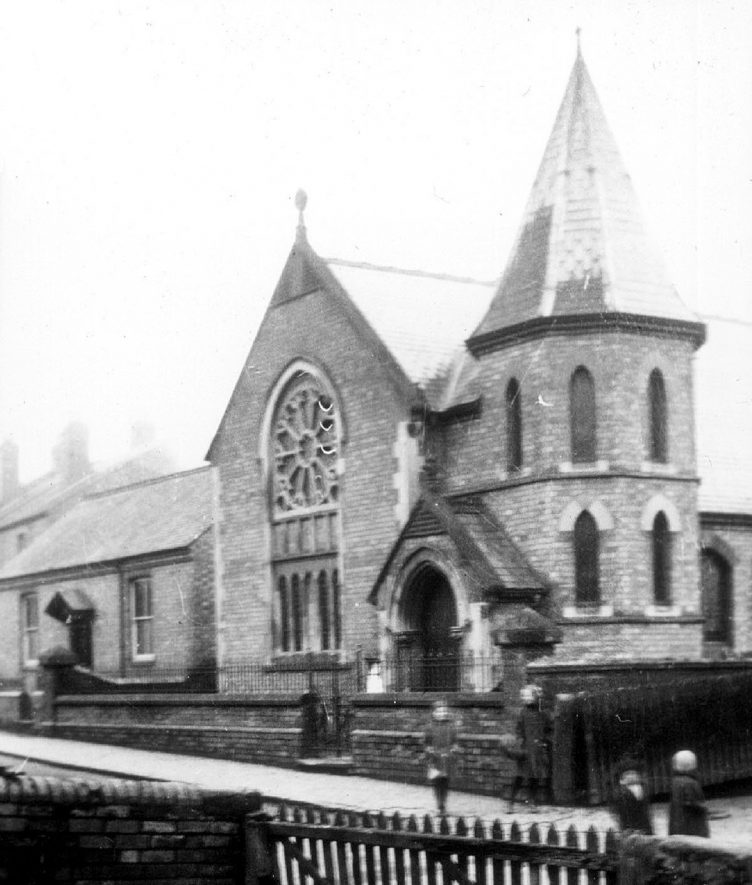 Cubbington Methodist Church built 1883 |  IMAGE LOCATION: (Warwickshire County Record Office)
