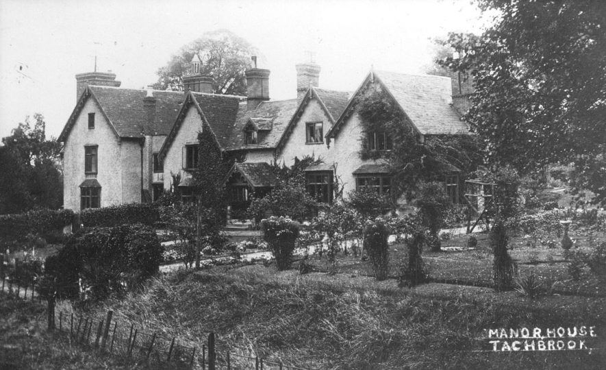 Tachbrook Manor house.  1900s    IMAGE LOCATION: (Warwickshire County Record Office)