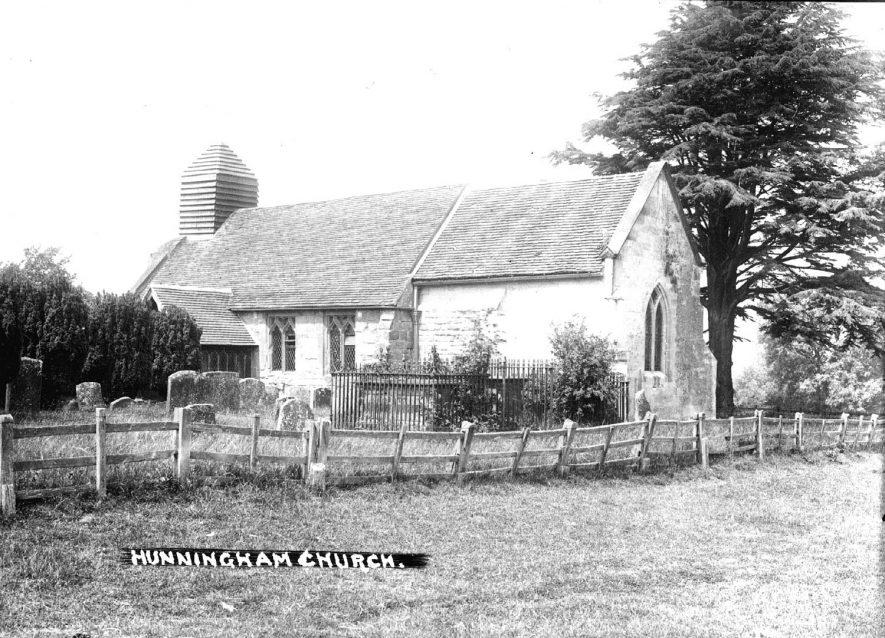 Hunningham church.  1910s |  IMAGE LOCATION: (Warwickshire County Record Office)