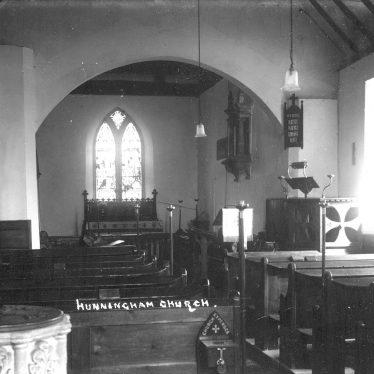 Hunningham.  Church