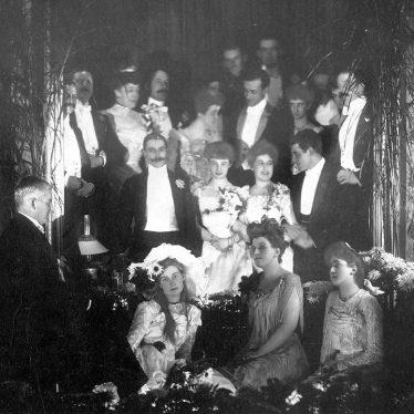 Leamington Spa.  Beauchamp Hall Christmas Party