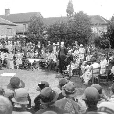 Leamington Spa.  Presentation to All Saint's Vicar