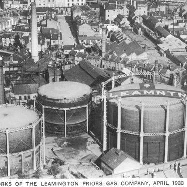 Leamington Spa.  Gas Company Works