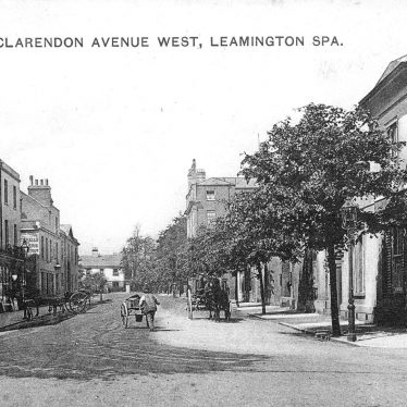 Leamington Spa.  Clarendon Avenue West